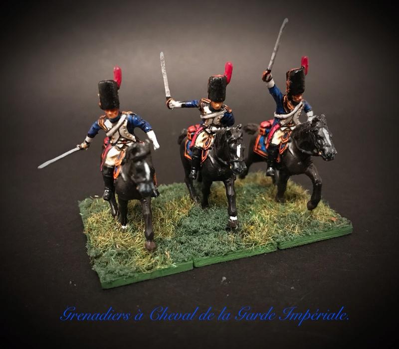 Colonel LEPIC [ NAPOLÉONFIGURINES ] + Grenadiers à cheval de la Garde [ HÄT 8013 ] au 1/72°. Image253