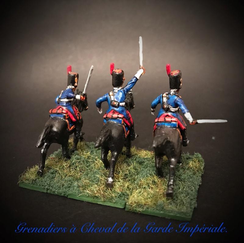 Colonel LEPIC [ NAPOLÉONFIGURINES ] + Grenadiers à cheval de la Garde [ HÄT 8013 ] au 1/72°. Image254