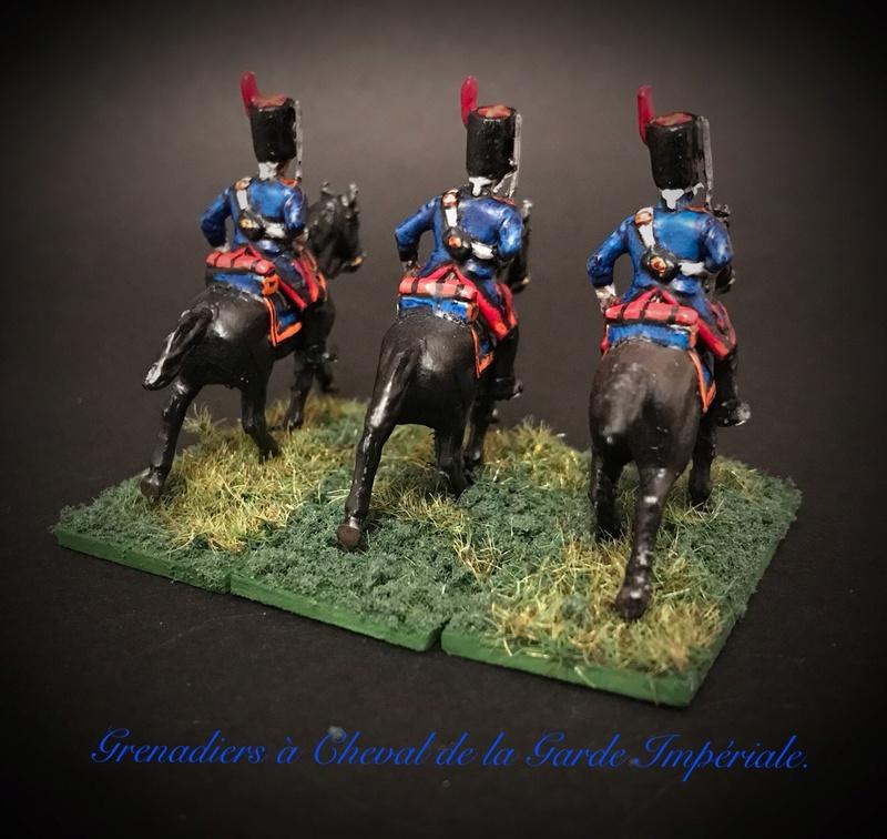 Colonel LEPIC [ NAPOLÉONFIGURINES ] + Grenadiers à cheval de la Garde [ HÄT 8013 ] au 1/72°. Image255