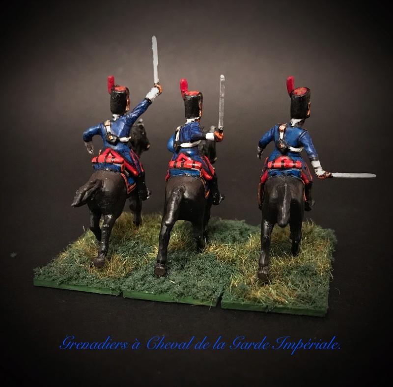 Colonel LEPIC [ NAPOLÉONFIGURINES ] + Grenadiers à cheval de la Garde [ HÄT 8013 ] au 1/72°. Image257