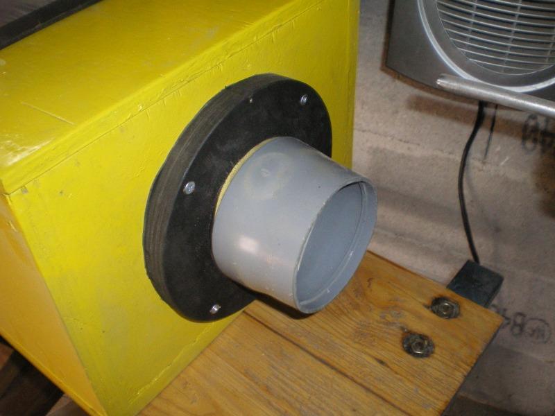 Une mini cabine de sablage de boiseu F1010
