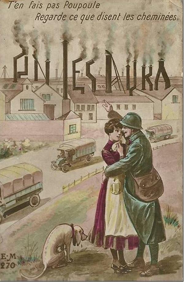 La Grande Guerre en cartes postales Cp410