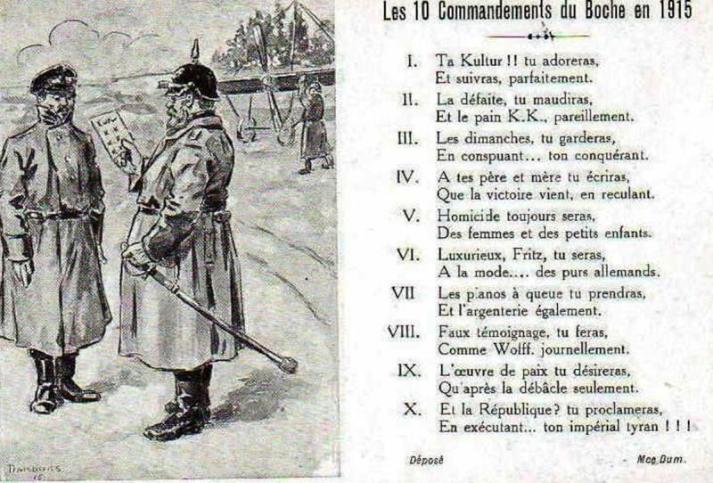 La Grande Guerre en cartes postales Cp910