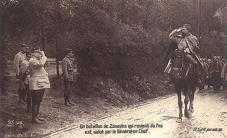 La première bataille de la Marne, 5 au 10 septembre 1914. M1110