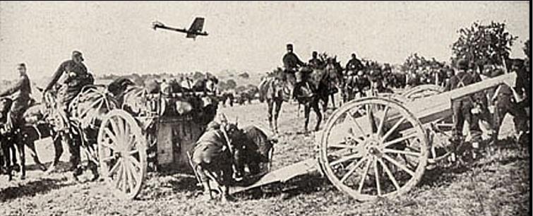 La première bataille de la Marne, 5 au 10 septembre 1914. M112