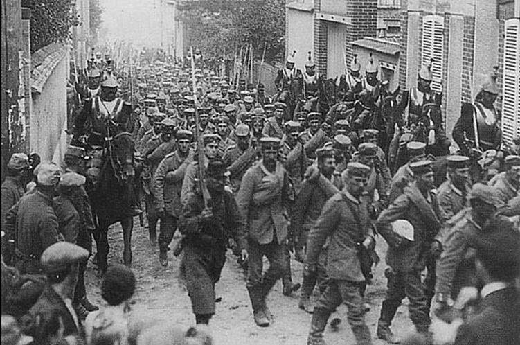 La première bataille de la Marne, 5 au 10 septembre 1914. M611