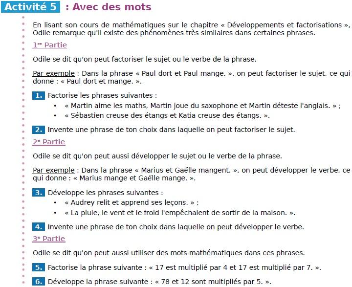 5eme - Exercice maths et français dans un manuel - qu'en pensez-vous ? Sans_t11