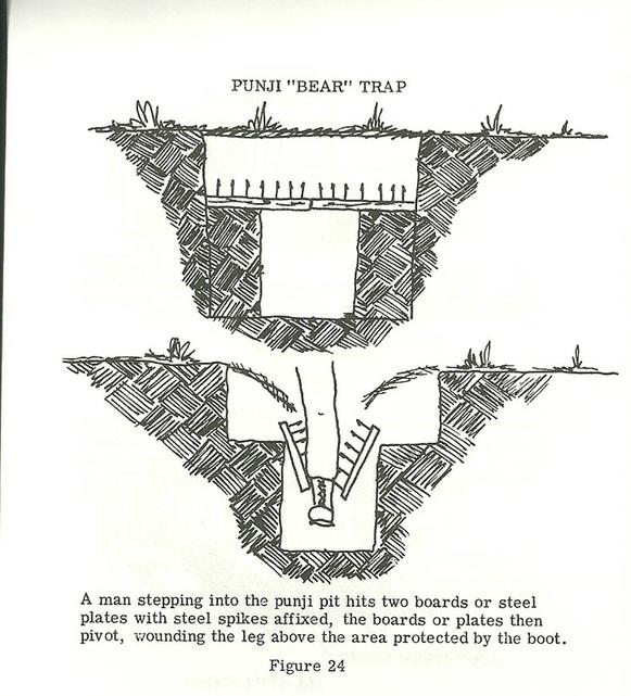 Les pièges en bambou Vietcong (Booby traps) partie 1 75996611