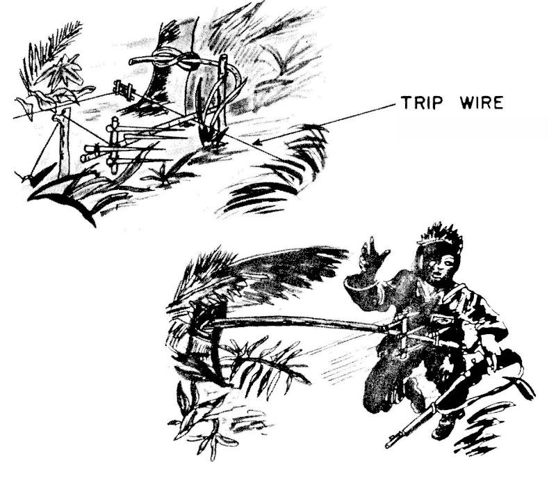 Les pièges en bambou Vietcong (Booby traps) partie 1 Booby_11