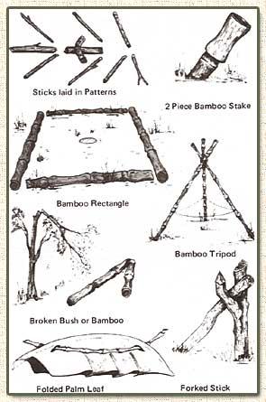 Les pièges en bambou Vietcong (Booby traps) partie 1 Trap_112