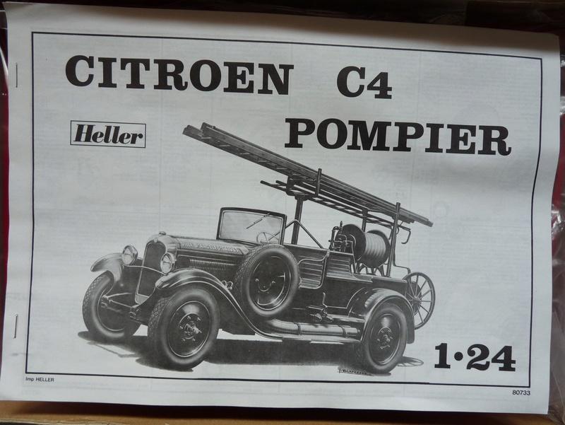 CITROËN C4 Pompier 1/24ème Réf 80733 P1230316