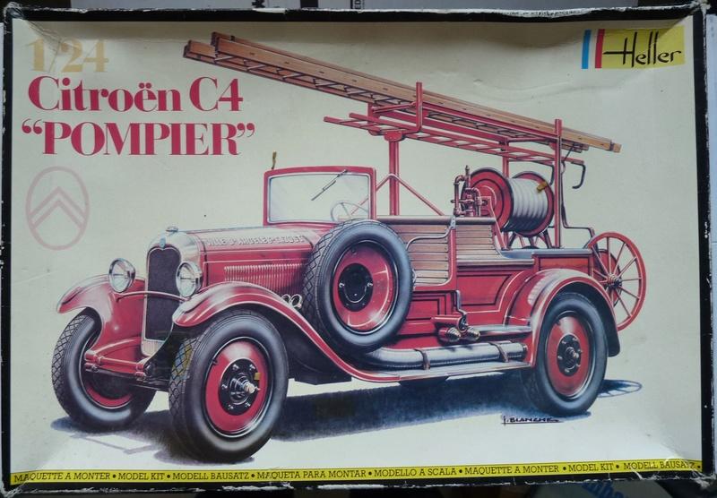 CITROËN C4 Pompier 1/24ème Réf 80733 P1230317