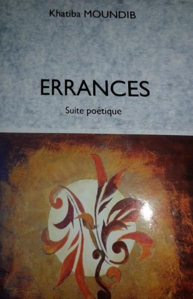 """Khatiba Moundib : """"Errances"""", un recueil d'humanité Erranc10"""