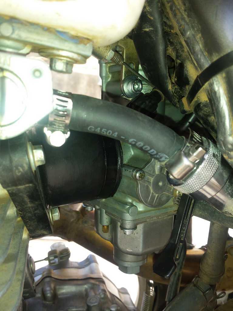 Soucis carburateur XR400...  20150610