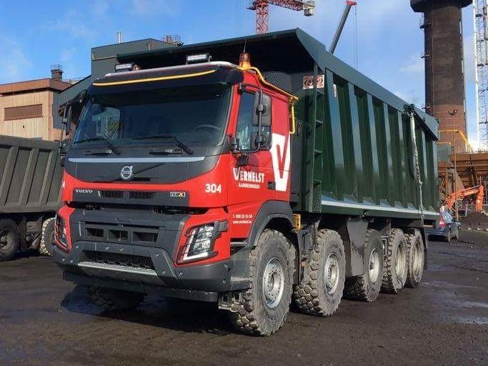 FMX la gamme chantier de Volvo - Page 2 Smart105