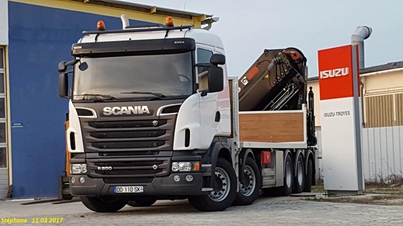 Scania porteur 5 essieux Smart110