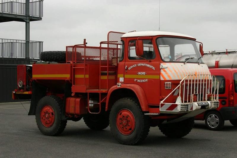 Saviem des pompiers Smart_91