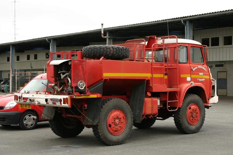 Saviem des pompiers Smart_92