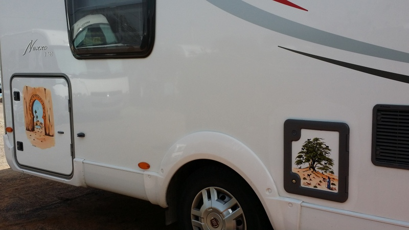peinture sur camping car 20140214