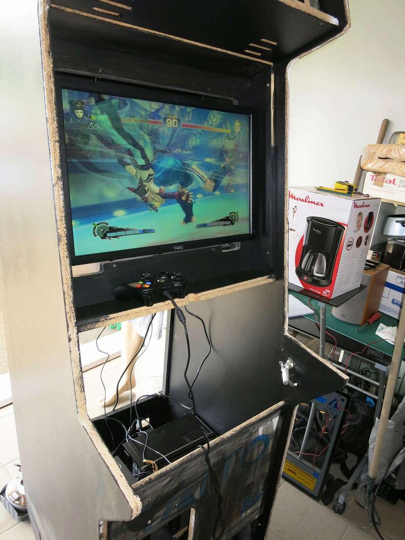 [TERMINÉ] Borne d'arcade Taito Darklvador Img_0332