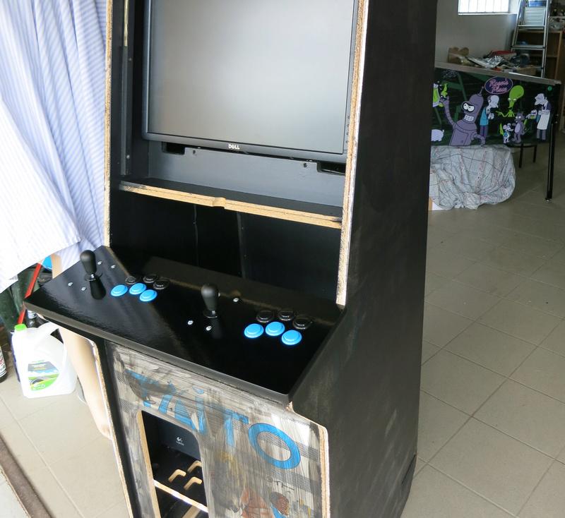 [TERMINÉ] Borne d'arcade Taito Darklvador Img_0333