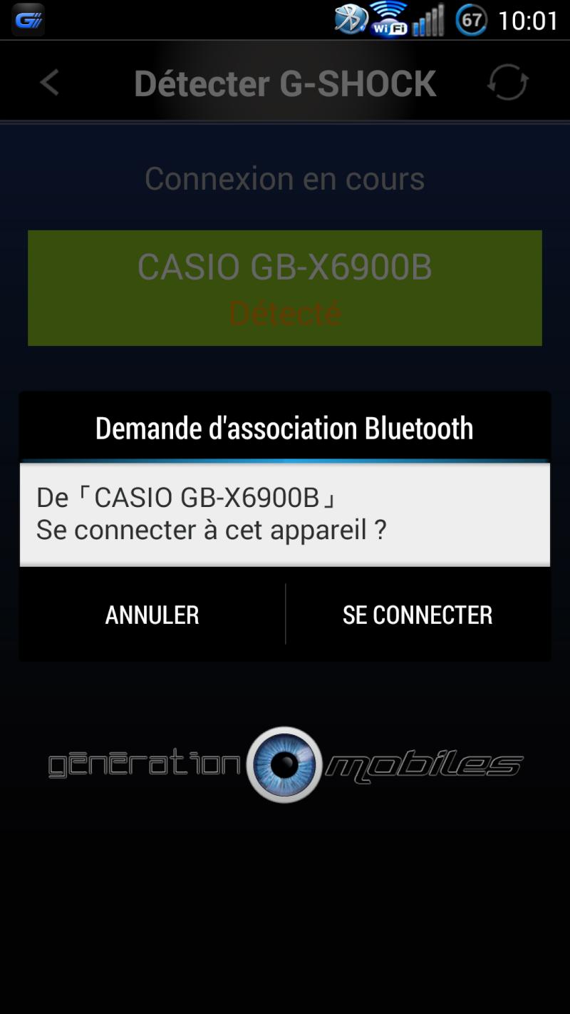 [TEST] Montre Bluetooth CASIO G-SHOCK GB X6900 B Casio_12