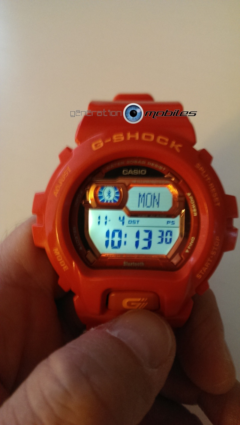 [TEST] Montre Bluetooth CASIO G-SHOCK GB X6900 B Casio_13