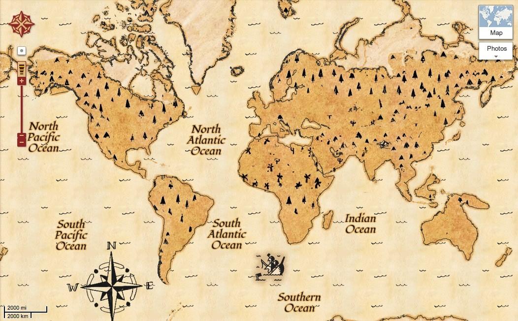 علم الخرائط Google10