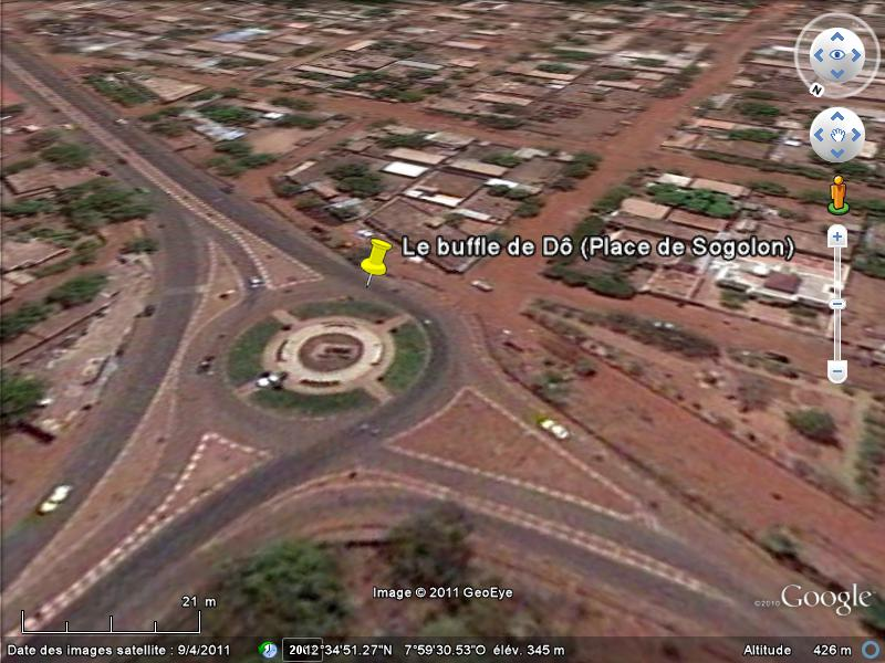 [MALI] - Les monuments sur les ronds-points de Bamako F1-pla10