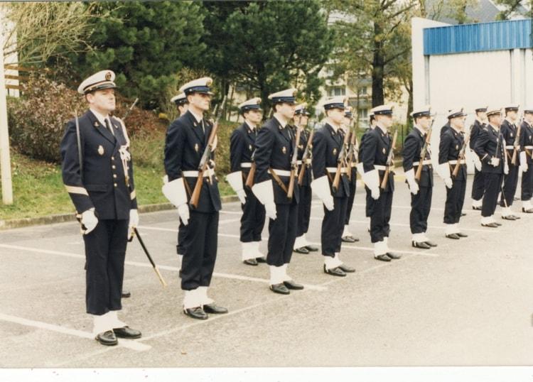 [ Divers Gendarmerie Maritime ] Île Longue fort de Crozon 1987 40777211