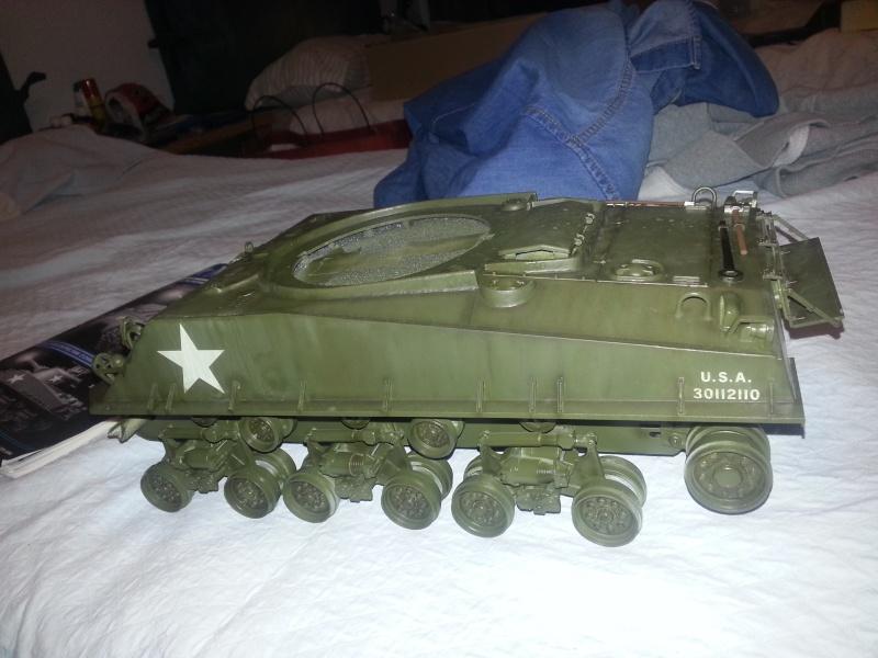 M4 sherman 105mm Howitzer di snake by frogolino 2013-190
