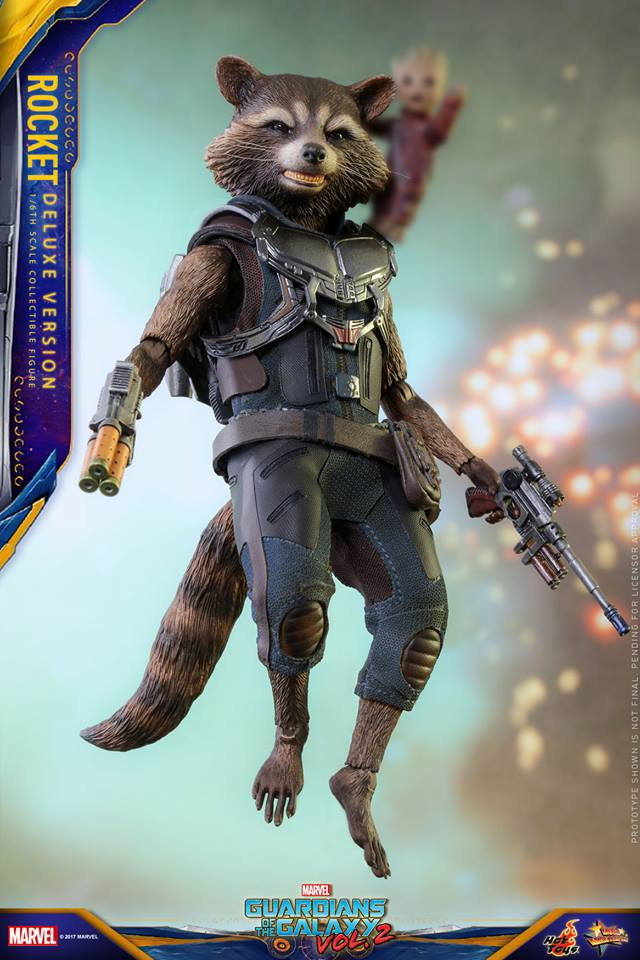 GARDIANS OF THE GALAXY VOL.2 - ROCKET DELUXE EDITION (MMS 411) 16683810