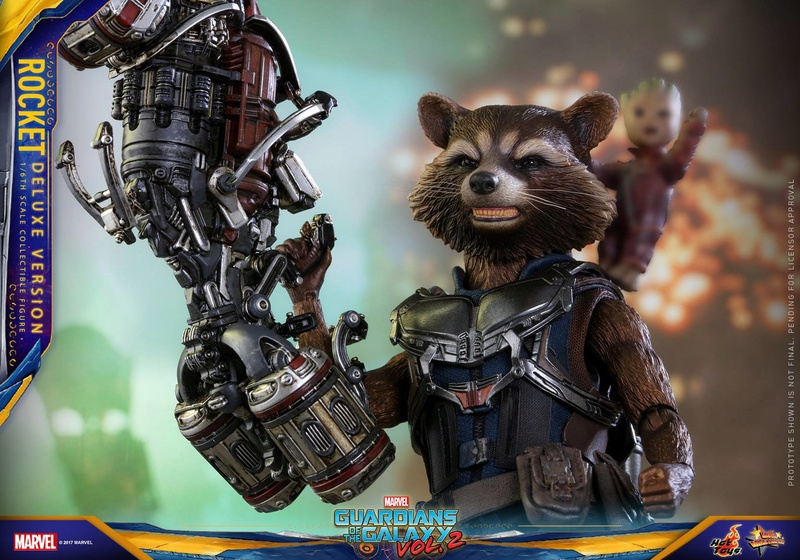 GARDIANS OF THE GALAXY VOL.2 - ROCKET DELUXE EDITION (MMS 411) 16903310