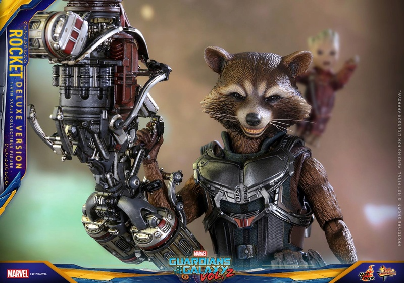 GARDIANS OF THE GALAXY VOL.2 - ROCKET DELUXE EDITION (MMS 411) 16991810