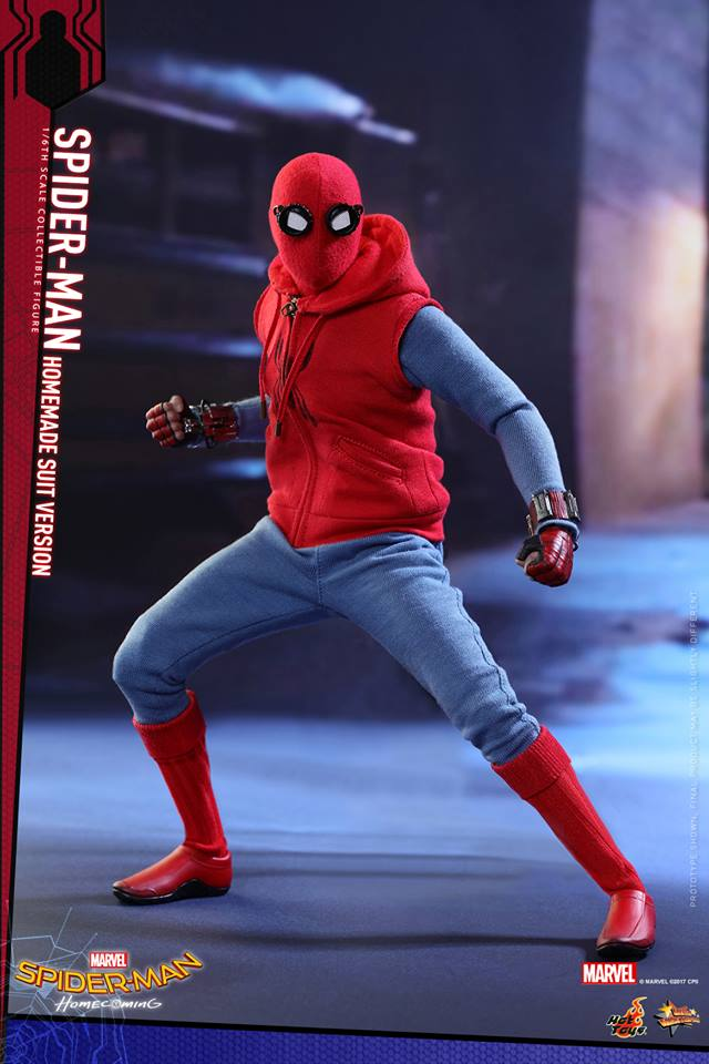 SPIDER-MAN: HOMECOMING - SPIDER-MAN HOMEMADE SUIT 17457710