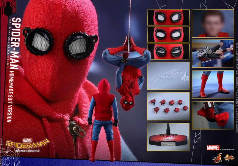 SPIDER-MAN: HOMECOMING - SPIDER-MAN HOMEMADE SUIT 27436210