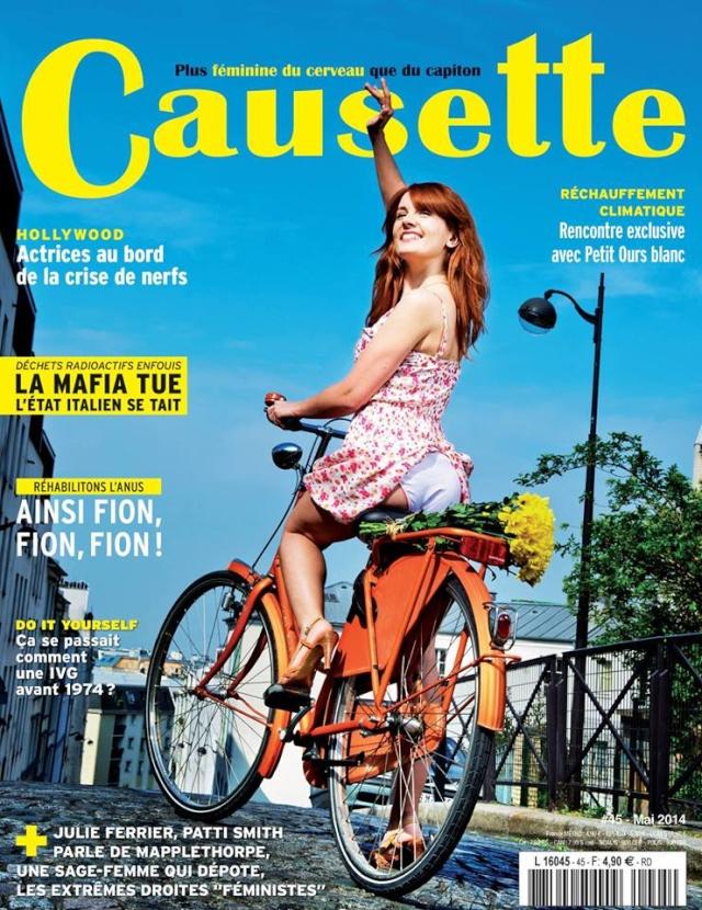 [Presse] Magazine Causette avec Lénie Cherino et Justine Le Pottier  Causet10