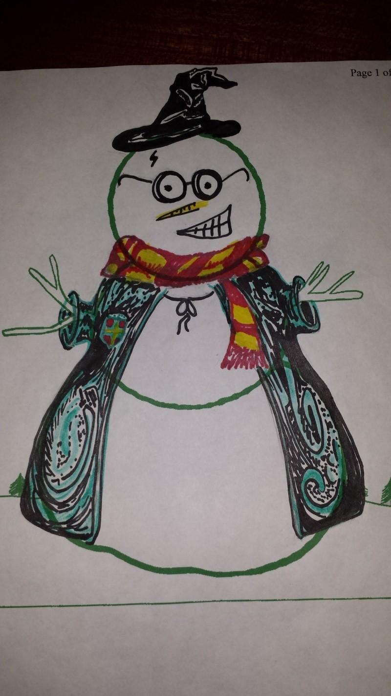 Snowman Decorating Contest Snowma10