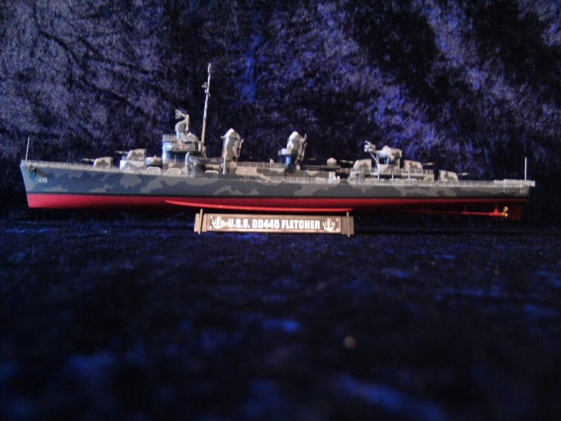 DD445 Fletcher von Tamiya in 1 : 350 Pict0038