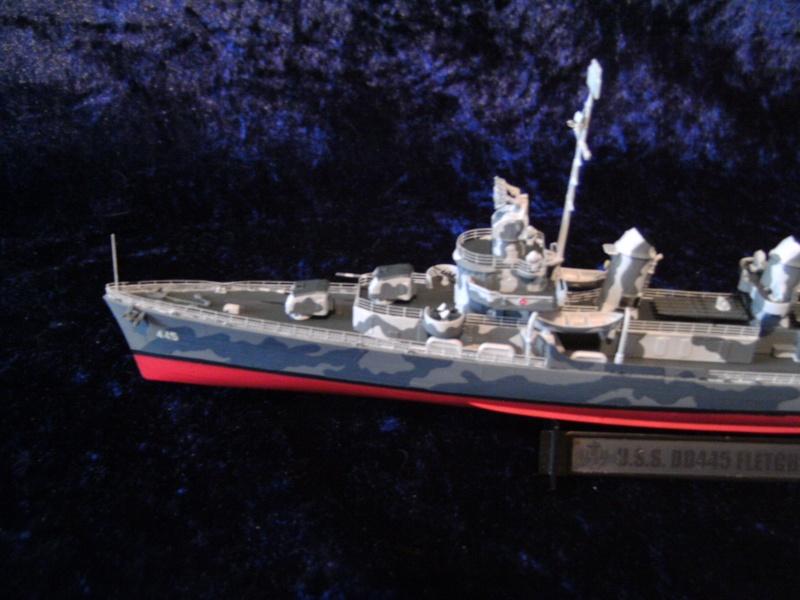 DD445 Fletcher von Tamiya in 1 : 350 Pict0043