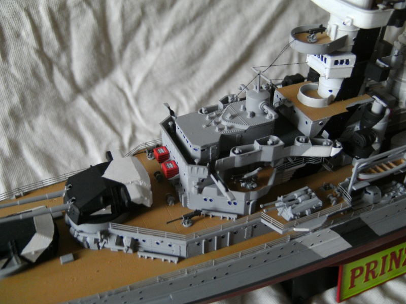 Schwerer Kreuzer Prinz Eugen (1941) von Trumpeter in 1/350 Pict0119