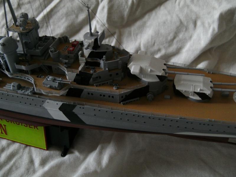 Schwerer Kreuzer Prinz Eugen (1941) von Trumpeter in 1/350 Pict0122