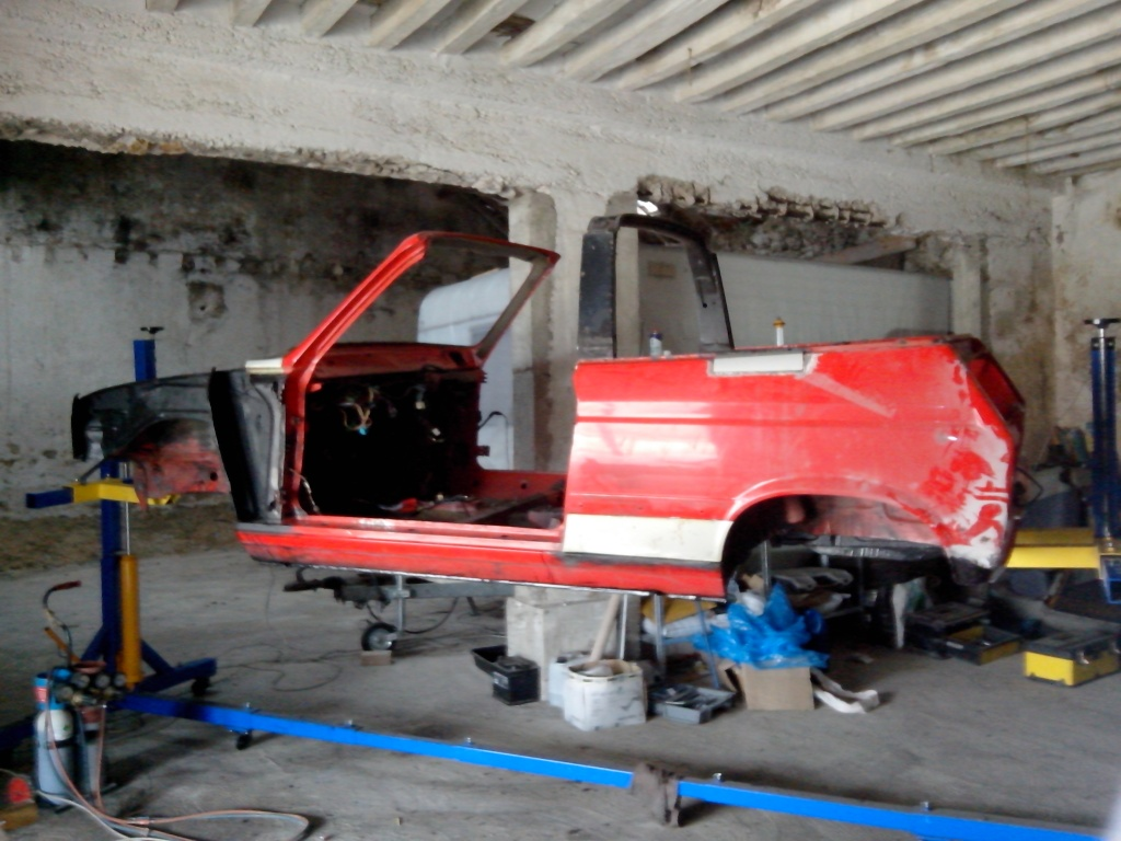Restauration Cabriolet 80 Hp 1983 Change13