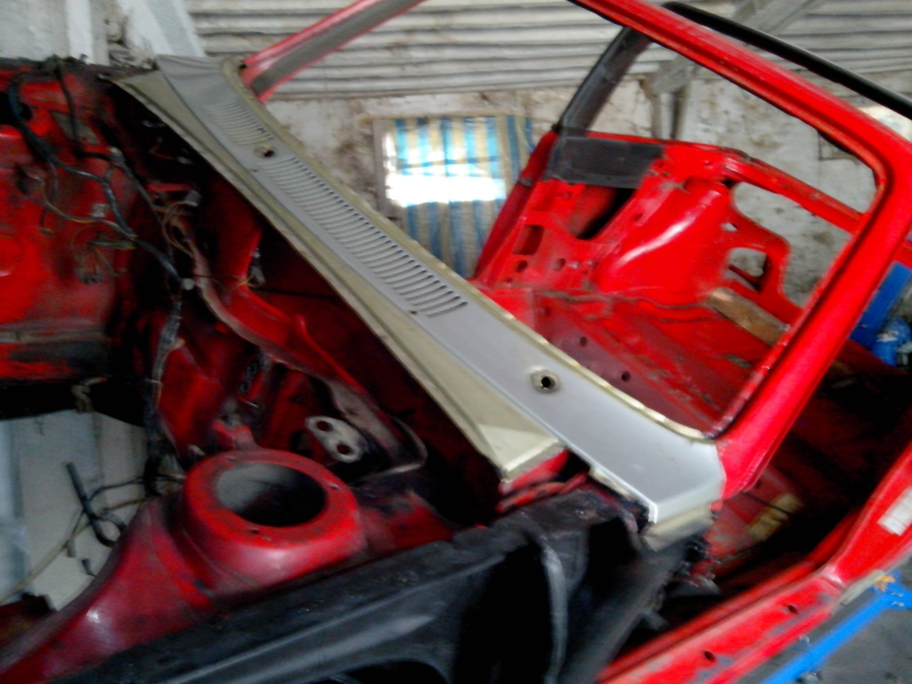 Restauration Cabriolet 80 Hp 1983 Change14