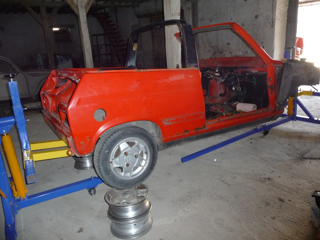 Restauration Cabriolet 80 Hp 1983 Coque_11