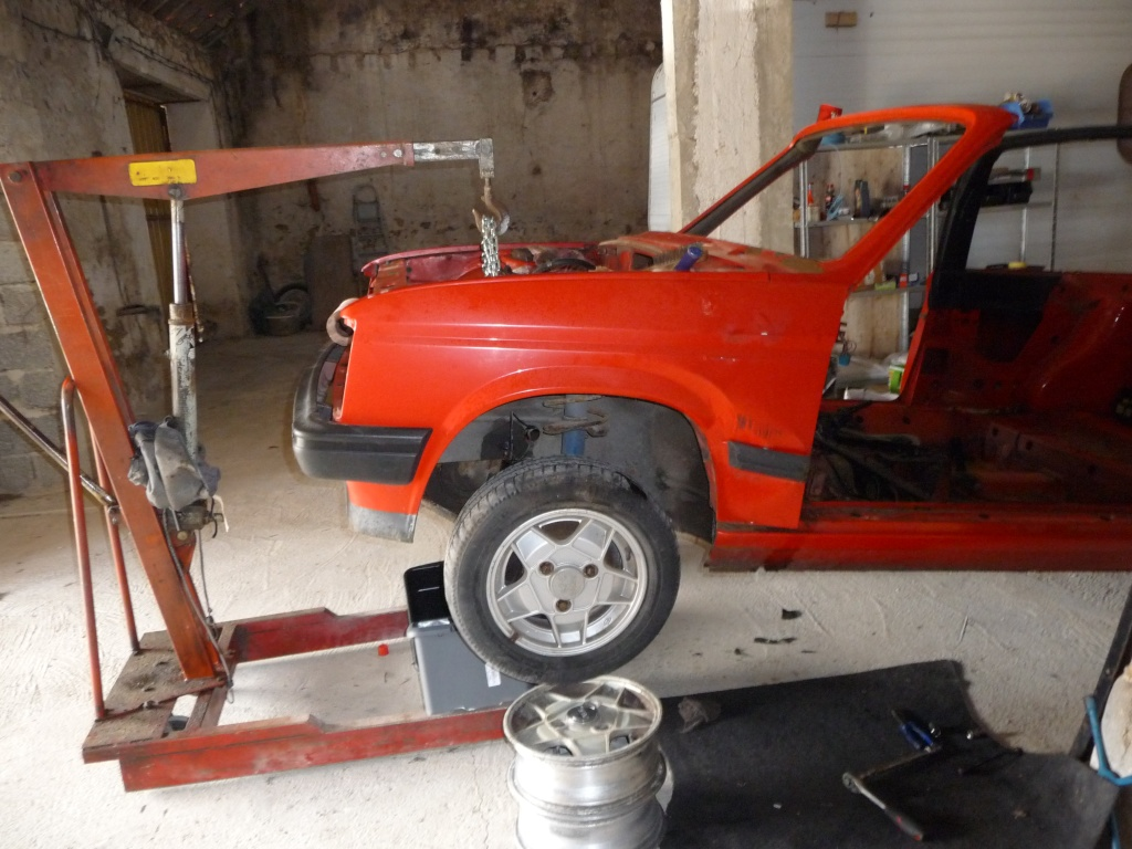 Restauration Cabriolet 80 Hp 1983 Depose10