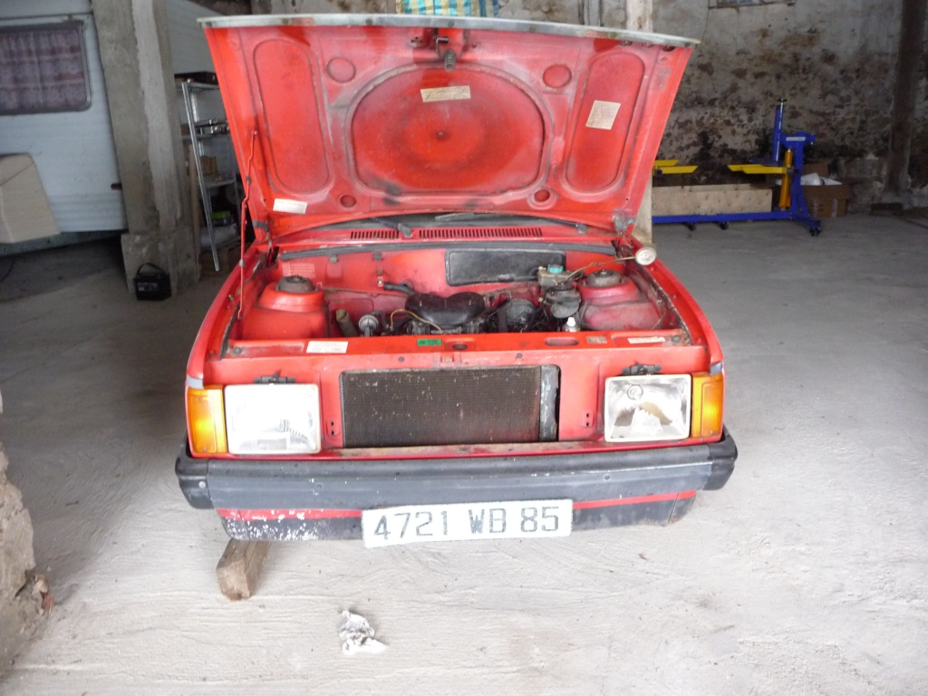 Restauration Cabriolet 80 Hp 1983 Mecani12
