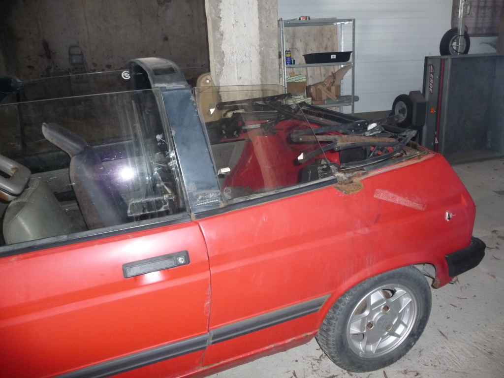 Restauration Cabriolet 80 Hp 1983 Mecani13