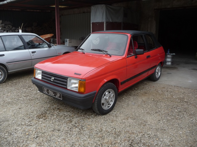 Restauration Cabriolet 80 Hp 1983 P1040920