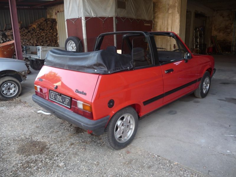 Restauration Cabriolet 80 Hp 1983 P1040934